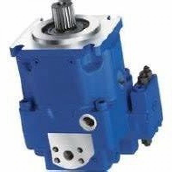 Rexroth - 165 Espèces Groupe Hydraulique Pompe - ABSKG-60AL9/VGF2-016/132M #1 image