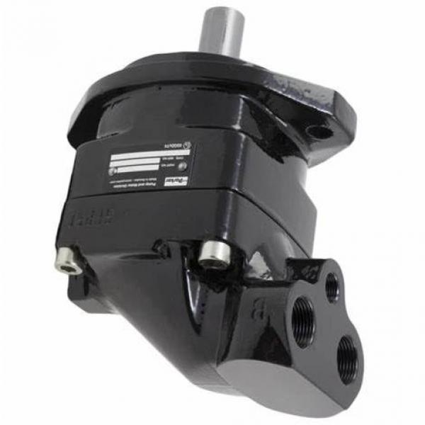 Véritable Neuf Parker / Jcb Double Pompe Hydraulique 20/925340 41+ 26cc / Rev à #3 image