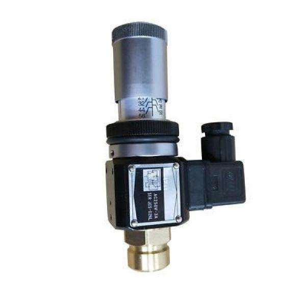 Manomètre hydraulique contrôle de pression manomètre glycérine Ø63 0-4 BAR #3 image