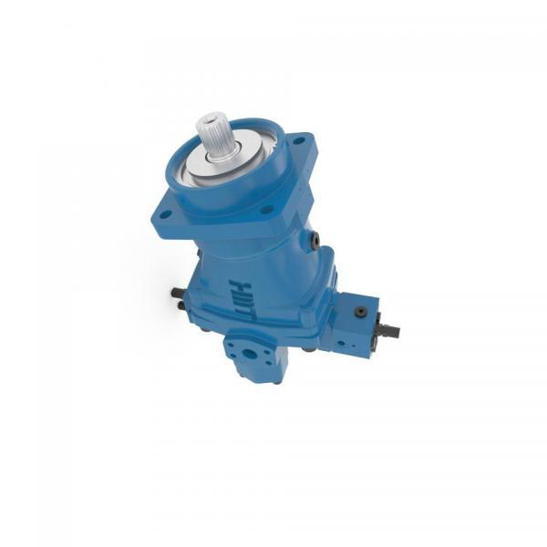 Pompe hydraulique à pied doubles pistons #3 image