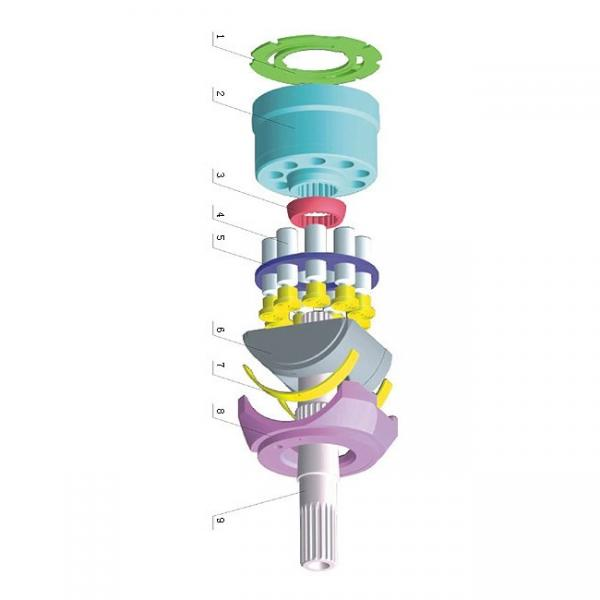 Daikin Ndj Huile Hydraulique Moteur Pompe NDJ159-152-20 Piston V15A1RX-95S14 #1 image