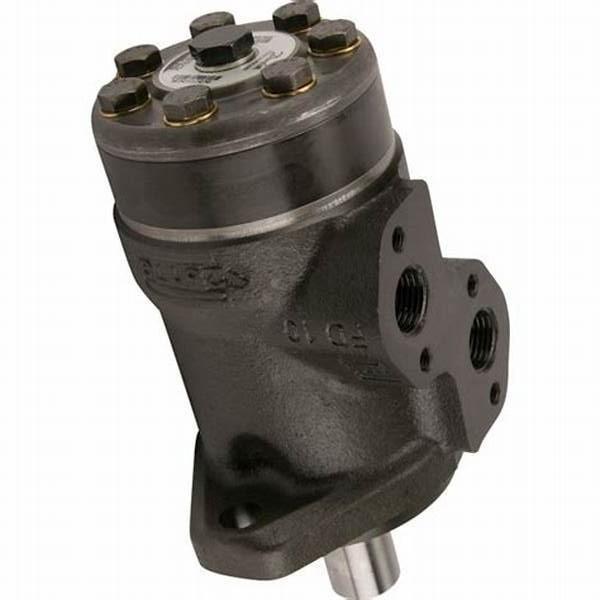 M + S MP moteur hydraulique 32 To 400cc, 25 mm arbre (Danfoss OMP/Adan VMP) #3 image