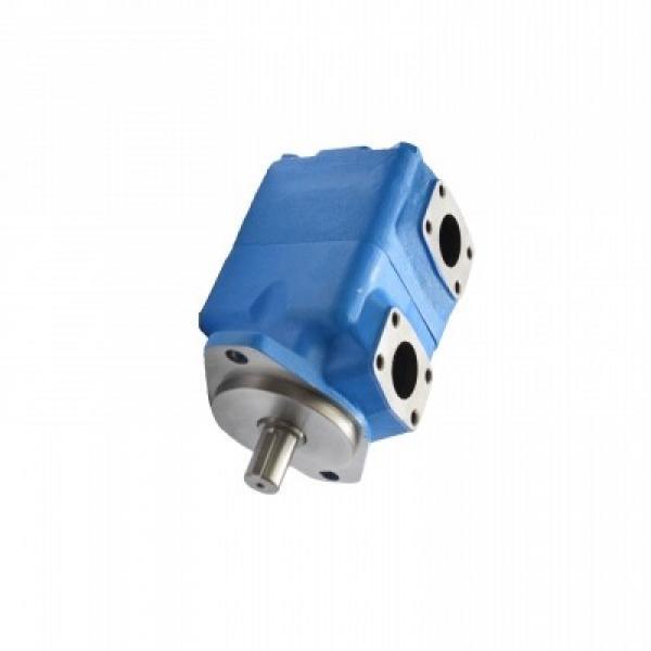 Distributeur hydraulique 40L/min, 7 sections 2 joysticks Vannes double effet #1 image